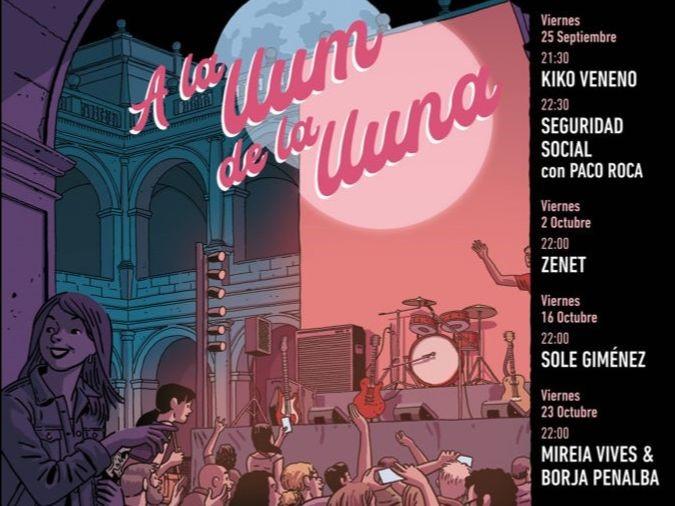 """Ciclo de conciertos """"A la Llum de la Luna"""""""